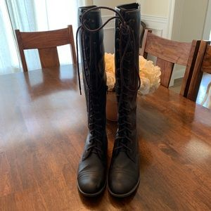 High Knee Boots Sz 8